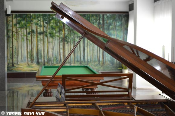 Piano and Billiards Table - Reunification Palace Saigon